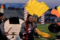 2016-10-07 Band at Footbal vs Warwick