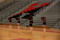 2015-12-14 JV Cheer at Girls Bball vs Etown