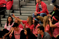 2015-12-18 Cheer at Var Boys Bball vs Township