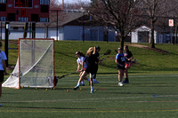 03-23 JV Girls Lax vs Twp scrimmage
