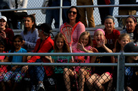 05-02 3rd/4th Girls Lax watching Varsity game