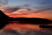 Sunset on the Susquehanna 2016-08-23