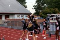 2016-10-11 JV & Var Cheer at Boys Soccer vs Twp