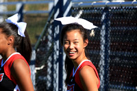 2016-09-12 Cheer at Boys Soccer vs McCaskey