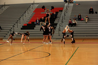 2016-01-15 Cheer at Var Girls Bball vs Garden Spot