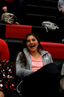 2017-02-20 Cheer at Dist Playoffs Var Girls Bball at McCaskey