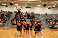 2016-12-19 Cheer & Crowd at Boys Bball vs Penn Manor