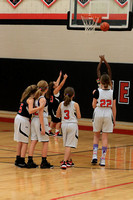 2018-01-23 5th Gr Girls Bball exhibition